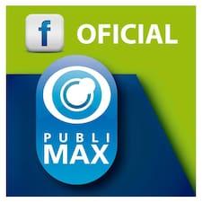 Publimax - Uživatelský profil