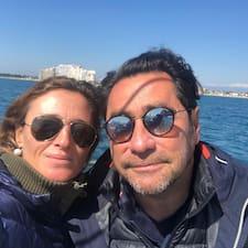 Användarprofil för Fréderic & Cristina