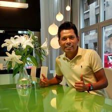 Javier felhasználói profilja