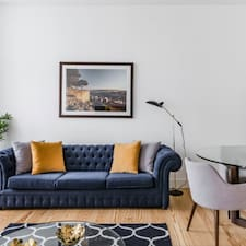 Sharp Cosmopolitan Apartment