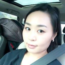 Minji felhasználói profilja