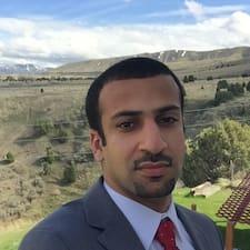Perfil do utilizador de Saleh