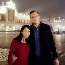 Michelle & Christian bir süper ev sahibi.
