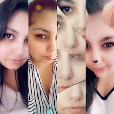 Milou felhasználói profilja