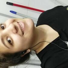 Oriana felhasználói profilja