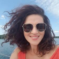 Julija felhasználói profilja