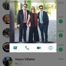 Vasco - Uživatelský profil