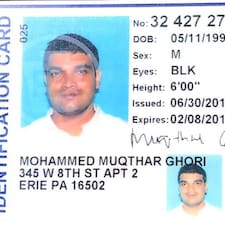 Mohammed Muqthar User Profile