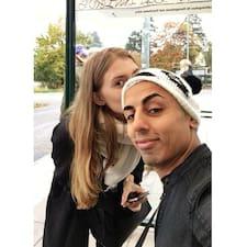 Användarprofil för Josefina & Reza