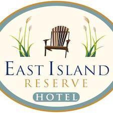 East Island felhasználói profilja