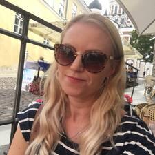 Henkilön Heidi käyttäjäprofiili