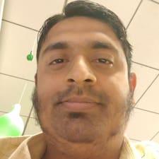 Jeyaraman felhasználói profilja