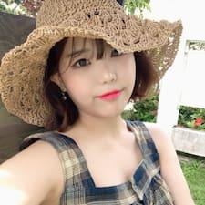 Perfil do usuário de 지은