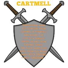 Profil utilisateur de Cartmell