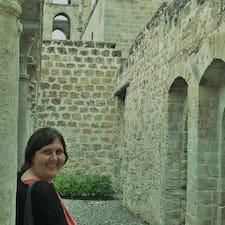 Ilaria felhasználói profilja