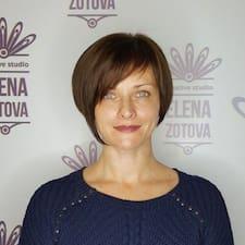 Елена的用戶個人資料