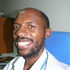 Mwiinga felhasználói profilja