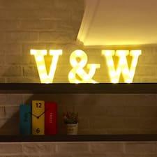 Perfil do utilizador de V&W