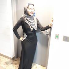 Syeda felhasználói profilja