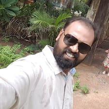 Sadhish felhasználói profilja