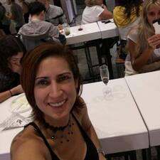 Henkilön Ana K. käyttäjäprofiili
