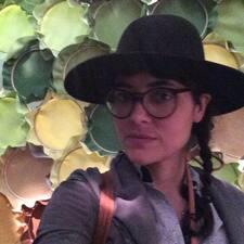 Sharline felhasználói profilja