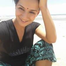 Zhana felhasználói profilja