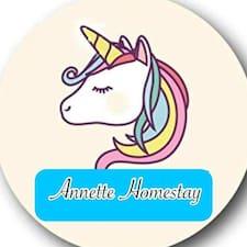Nutzerprofil von Annette