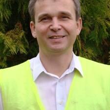 Marek felhasználói profilja