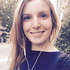 Gabija felhasználói profilja
