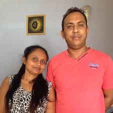 Nuwan felhasználói profilja