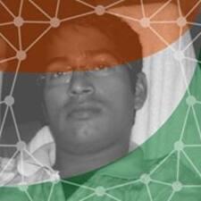 Perfil do usuário de Ajay