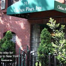Henkilön Chelsea Pines Inn käyttäjäprofiili