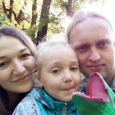 Användarprofil för Шевяков