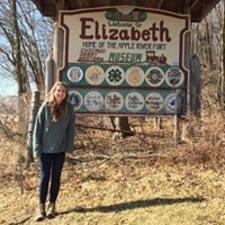 Användarprofil för Elizabeth
