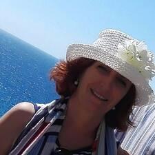 Henkilön Angela käyttäjäprofiili