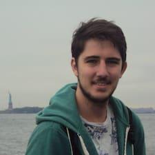 Martín felhasználói profilja