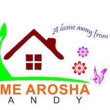 Nutzerprofil von Arosha