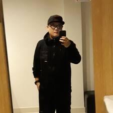Daewon felhasználói profilja