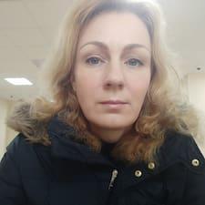 Henkilön Oxana käyttäjäprofiili