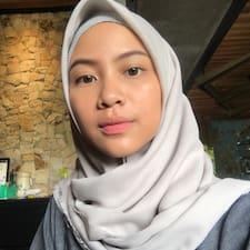 Profilo utente di Nadhira