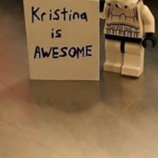 โพรไฟล์ผู้ใช้ Kristina