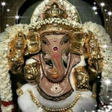 Henkilön Krishnan käyttäjäprofiili