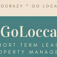 GoLocca - Uživatelský profil