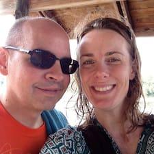 Canetha & Daniel felhasználói profilja