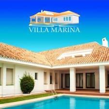 Villa Marina is the host.