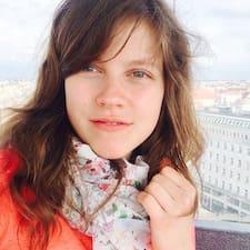 Perfil do utilizador de Evgenia