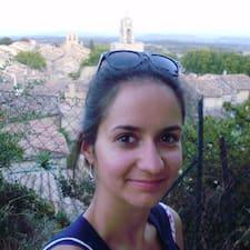 Aurelia - Uživatelský profil