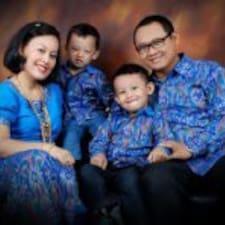 Henkilön Agung käyttäjäprofiili