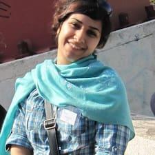 Sareh felhasználói profilja